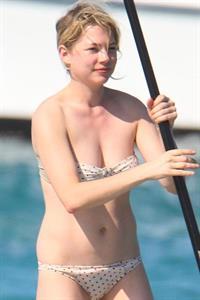 Michelle Williams in a bikini