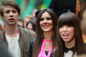 Victoria Justice screening of Fun Size at Mall of America 10/20/12
