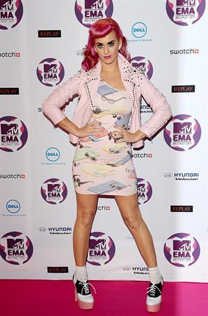 Katy Perry - 2011 MTV European Music Awards 11/6/11