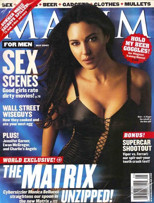 Monica Bellucci for Maxim