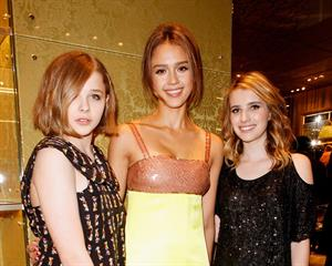 Jessica Alba Miu Miu store launch dinner at Lancaster House on December 3, 2010 in London