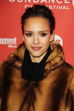 Jessica Alba at The Killer Inside Me premiere on January 24, 2010
