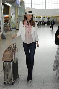 Jessica Alba - Heathrow airport, May 30, 2012