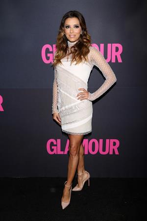 Eva Longoria – Glamour's 15th Anniversary 10/10/13