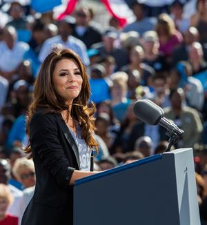 Eva Longoria Obama Campaigns In Nevada in Las Vegas - November 1, 2012