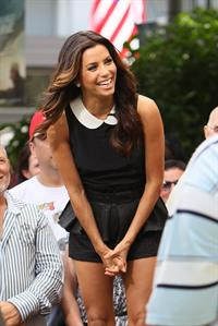 Eva Longoria - Extra appearance at the Grove in Los Angeles - September 11, 2012