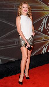 Kylie Minogue at The 40/40 Club in New York in 2013