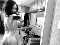 Abigail Spencer taking a selfie and - ass