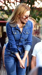 Kylie Minogue Visits 'Etra' at The Grove in L.A. (November 13, 2012)