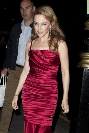 Kylie Minogue - Little House Mayfair in London - September 8, 2012