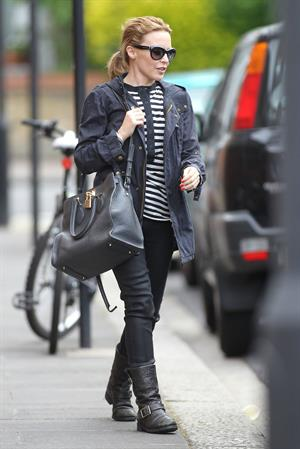 Kylie Minogue - Leaving her management company in London - June 6, 2012