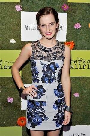Emma Watson - Official Party For The Cast Of Perks of Being a Wallflower At The 2012 TIFF, 08 Sep 2012
