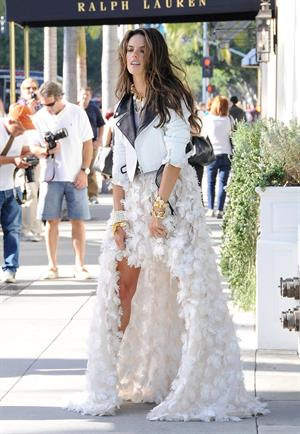 Alessandra Ambrosio –shoot set in Beverly Hills 10/12/13