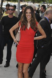 Alessandra Ambrosio at the Transformers 3 after party arrivals in New York City on June 28, 2011