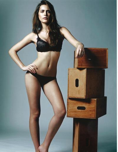 Rebeca Campelo in lingerie