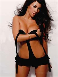 Kourtney Kardashian in lingerie