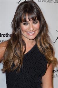 Lea Michele Big Brother Big Sisters of LA Stars Gala in Beverly Hills Oct 26, 2012