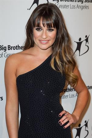 Lea Michele Big Brother Big Sisters of LA Stars Gala in Beverly Hills Oct 26, 2012