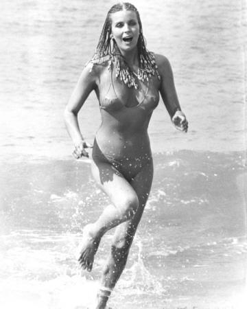 Bo Derek in a bikini - breasts
