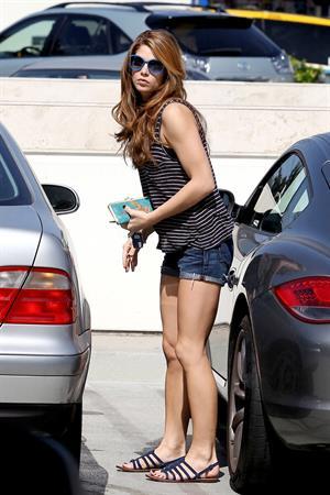 Ashley Greene leaving a tanning salon in Studio City June 24, 2010