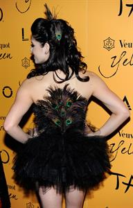 Ashley Greene Veuve Clicquot Yelloween in Las Vegas