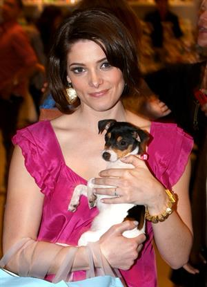 Ashley Greene shopping and posing at Kitson