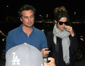 Kate Beckinsale Arrives at LA Airport to catch a flight to NYC May 4-2013