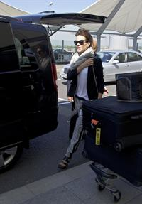 Kate Beckinsale at Heathrow Airport in London 5/6/13