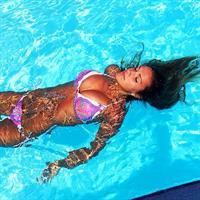 Kayla Simmons in a bikini