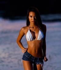 Phoebe Malisz Oum in a bikini