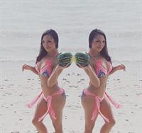 Allie DiMeco in a bikini