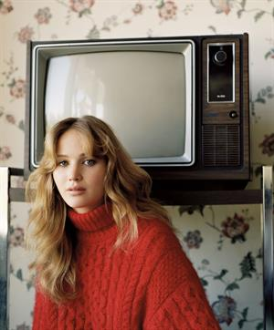 Jennifer Lawrence UK Vogue by Alasdair McLellan