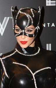 Kim Kardashian - At Halloween Birthday Bash At LIV Nightclub In Florida October 31, 2012
