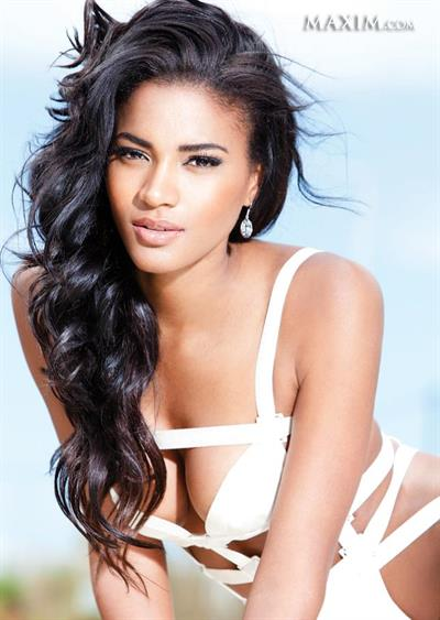 Leila Lopes in a bikini