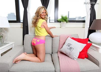 Ashleigh Hunt in lingerie - ass