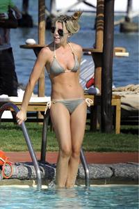 Abigail Clancy holiday at the Portocervo Hotel Cala di Volpe Sardinia Italy on July 12, 2010