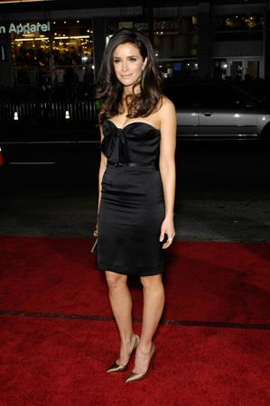 Abigail Spencer This Means War Premiere in Los Angeles on February 8, 2012