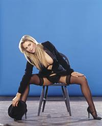 Abi Titmuss in lingerie