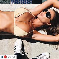Charlie Riina in a bikini