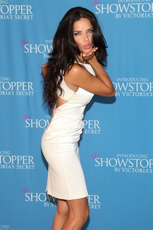 Adriana Lima Victoria's Secret Showstopper launch in New York City on August 9, 2011