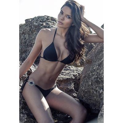 Paola Paulin in a bikini