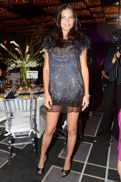 Adriana Lima at Brazil Charity Foundation Gala in Miami on March 27, 2012