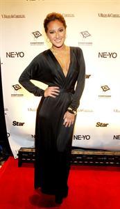 Adrienne Bailon Ne-Yo's 30th birthday party held at Cipariani's in New York City