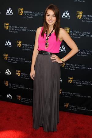 Aimee Teegarden 9th annual Bafta Los Angeles tv tea party on September 17, 2011