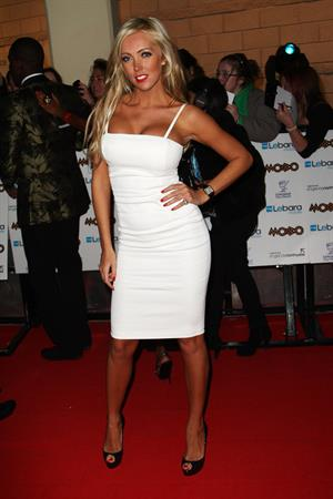 Aisleyne Horgan Wallace Mobo Awards on October 20, 2010
