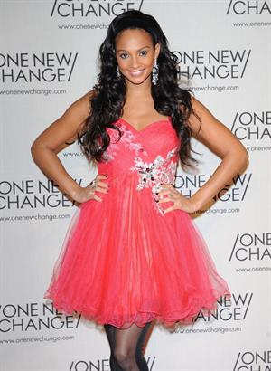 Alesha Dixon - The one new change Rooftop Terrace party in London - Nov 16, 2010