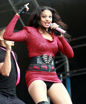 Alesha Dixon - Party in the park Leeds - July 25 2010