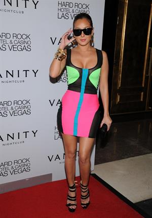 Adrienne Bailon 28th birthday party in Las Vegas on November 11, 2011