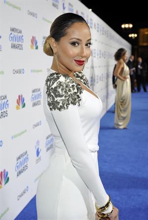 Adrienne Bailon - 2012 American Giving Awards - December 7, 2012