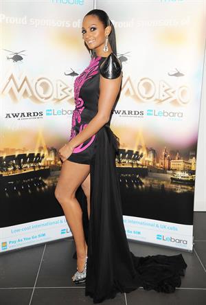 Alesha Dixon - Mobo awards - 20th Oct 2010